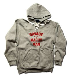 Macho Man Pro Wrestling Officially Licensed Men's LACE Hoodie S-3XL Randy Savage Bend R
