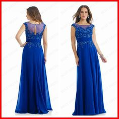Cheap dress alternative, Buy Quality dresses brand directly from China dress up prom dress Suppliers:Floor Length Royal Blue Chiffon Vestidos Para a Mae Da Noiva Mother of the Bride Dresses Pictureo
