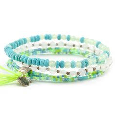 Mint Mix Stretch Bracelet Set