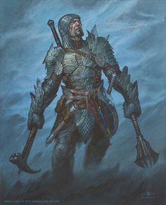 Fighter Picture (2d, fantasy, armor, hero, fighter, warrior)