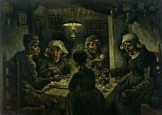 #41. The Potato Eaters - Vincent van Gogh, 50 Most Influential and Famous Paintings of All Time