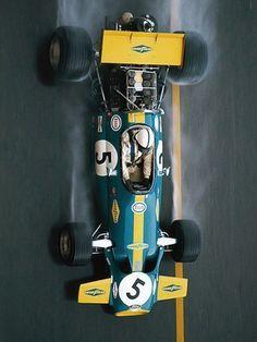 Jack Brabham, Monaco GP 1970, second place - Brabham BT33 '1970–72