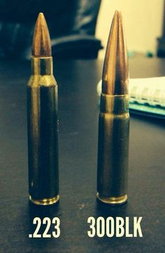 300 blk: The ideal round for a short barrel weapon system like an AR handgun or SBR...