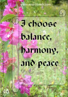 40 balance and harmony