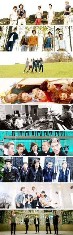 What Makes You Beautiful, Gotta Be You, One Thing, Live While We're Young, Little Things, Kiss You, One Way Or Another, Best Song Ever, Story of My Life <3