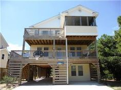 My brother's beach house at Nags Head that is up for rent in summer months