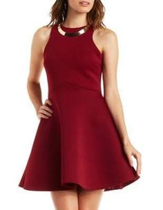 burgundy dress - Google Search
