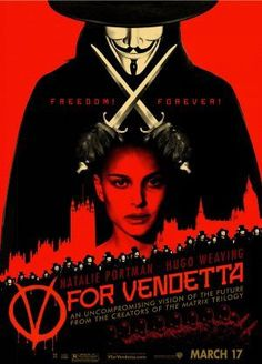 [[Voir]] V for Vendetta Film complet en streaming VFOnline HD V For Vendetta Film, V For Vendetta Poster, V Pour Vendetta, Hd Movies Online, Tv Series Online, Natalie Portman, 10 000 Film, Dc Comics, Hugo Weaving
