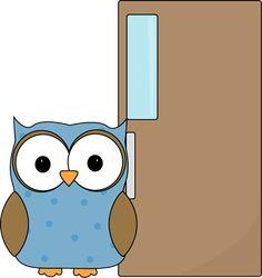 Owl Door Holder