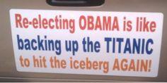 Made by Troy Riggs  #Obama humor #presidentialelection #presidenthumor #titanicfunny #obamafunny