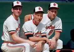 Billy Ripken, Cal Ripken Sr. and Cal Ripken Jr.1987