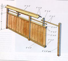 horizontal fencing | Japanese garden Fence