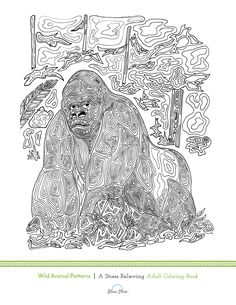 Another free adult coloring book page! This is probably one of our favorite ones! Simply print, color, and relax! Like this image? There are plenty more in our Animal Designs book!