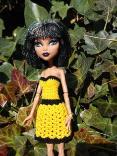 1000 Images About Monster High Crochet Patterns On