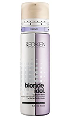 Redken Blonde Idol is a MUST for blondes. The best purple conditioner. Keeps your blonde super toned! Love it!