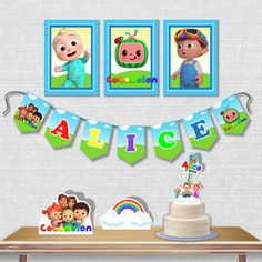 Kit Festa Cocomelon no Elo7 | PAINEL ÂNGELA ÁLVARES (1331249) 1st Birthday Outfits, First Birthday Parties, 3rd Birthday, First Birthdays, Birthday Cards, Paw Patrol Birthday Card, Diy Birthday Decorations, Party Favors, Party Themes