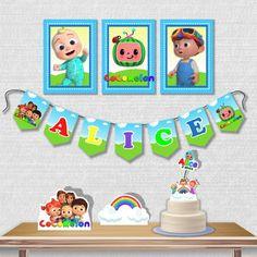 Kit Festa Cocomelon no Elo7 | PAINEL ÂNGELA ÁLVARES (1331249) 3rd Birthday, Birthday Cards, Birthday Parties, Paw Patrol Birthday Card, Displays, Diy Birthday Decorations, Baby Food Recipes, Party Themes, Lily