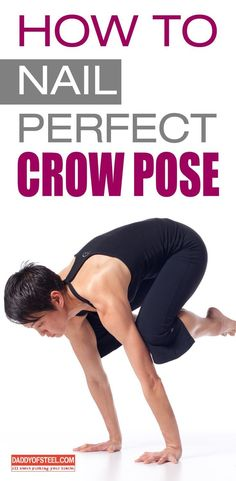 wanna impress everyone around in the studio. here is the way to nail a perfect crow pose. wanna impress everyone around in the studio. here is the way to nail a perfect crow pose. Yoga Poses For Men, Yoga For Men, Pranayama, Fit Board Workouts, Fun Workouts, Asana, Sutra, Cow Pose, Bikram Yoga