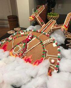 This is the crashed USS Enterprise gingerbread spaceship crafted by Redditor ejustice to resemble the scene in Star Trek Generations. Then, because the internet is the internet, fellow Redditor nicholmikey rush-job edited the picture of the ship into the...