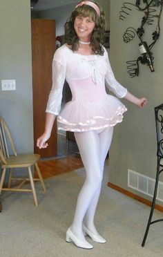 Britney Smith Dressed In Sisters Dance Recital Outfit