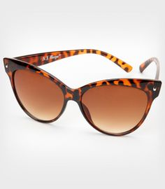 Tortoise Contessa Sunglasses  $12