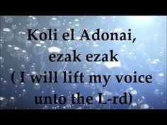 Koli El Adonai - Lyrics and Translation - Messianic Praise and Worship Praise And Worship, Praise Songs, Worship Songs, Music Ministry, Abba Father, Music Clips, Pink Cotton Candy, King Of Kings, My Favorite Music