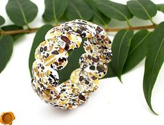 Amber Bracelet, Bangle Bracelets, Bangles, Amber Beads, Baltic Amber, Jewelry Gifts, Mosaic, Gemstones, Food