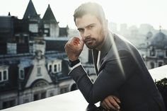 """""""Theo James for Vanity Fair Italy """""""