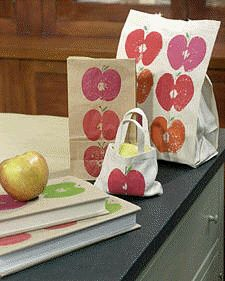 apples crafts - @My Brooklyn Baby (Darcy Le Fleming)