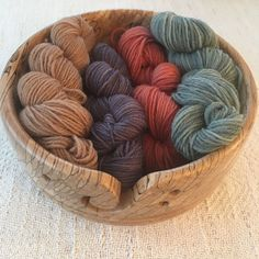 Pure wool sock yarns, no nylon, non-superwash, dyed with botanical dyes. Look for them in my Paivatar Yarn Etsy Shop Wool Socks, Sock Yarn, Dyes, Nifty, Yarns, Fiber Art, Serving Bowls, Etsy Shop, Pure Products