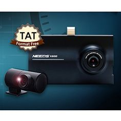 NEEDS X500 2CH HDHD Blackbox Dashcam Car Video Recorder 30fps LCD 35 16GB SD Card -- To view further for this item, visit the image link. (This is an affiliate link) #DashCamGPS