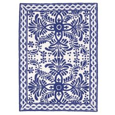 """I pinned this Spanish Tile 2'10 x 3'9"""" Rug from the On the Bright Side event at Joss and Main!"""