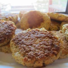 Dilled Salmon Patties ~ S {Trim Healthy Mama, GAPS, Paleo, Dairy Free, SCD, Grain Free, optional-Egg Free} | Counting All Joy