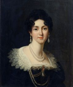 Dorothee, prices of Courland, duchess of Sagan by Francois Lefevre 1812