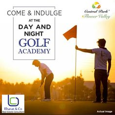 10 World Class Academies like Day & Night Golf, Cricket, Lawn Tennis, Badminton and many more coming soon only at Central Park Flower Valley. #CentralParkGurgaon, #CentralparkFlowerValley http://www.gurgaonpropertiesinfo.in/