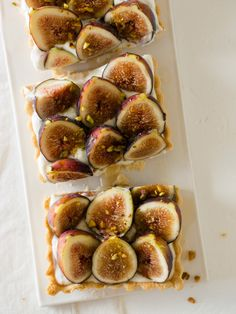 Fig and Honey Yogurt Tart