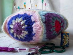 Idea for crocheted pincushion