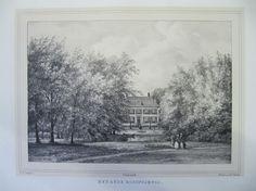Het Oude Koningshuis - Sassenheim (www.antiekeprenten.nl)