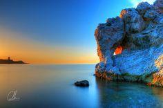 Buenos días, goedemorgen! Peñón del Cuervo, een van de prachtige stranden van #Málaga      #Spaans leren in Málaga: kijk op www.espaans.nl of neem contact met ons op info@espaans.nl