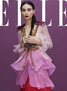 Elle US  January 2016, Rooney Mara -2