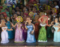 Oaxaca - Oaxaca Mexico - Clay Figurines for sale in Oaxaca
