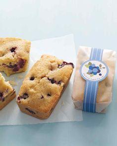 Blueberry- Lemon Tea Cakes