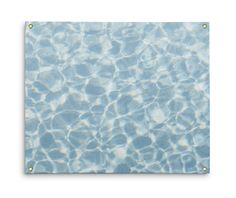 Go light on the ocean nautical look for your interiors with this backdrop  accent wall tapestry hanging, featuring a coastal style display of blue  crystal waters throughout! Available in three different tapestry sizes to  choose from, this beach surf boho chic tapestry hanging comes with grommets  fastened on all four corners for ease of hanging!   *Available in 26x36, 50x59 and 59x80 inches *Grommets included on all four corners for ease of hanging