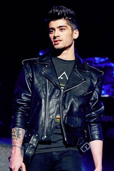 It kills me when he wears leather jackets