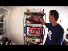 Check out Vasek Pospisil's Paris digs and find out how he likes to hang during his down time at Roland Garros