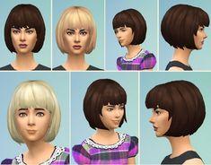 Birksches sims blog: Bibby's Bob hair  - Sims 4 Hairs - http://sims4hairs.com/birksches-sims-blog-bibbys-bob-hair/