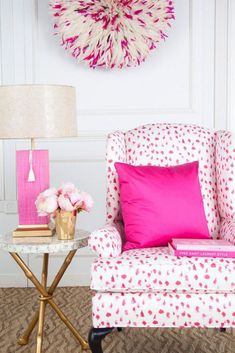 Fantastic Girls Bedroom Decorating Ideas – Creative Girls Room Decor Tips Tags: a girl room decoration, a baby girl room decor, girl room themes for tweens, teenage girl room decor ideas, hot . Cores Home Office, Home Office Colors, Pink Office, Girls Bedroom, Girl Room, Hot Pink Bedrooms, Preppy Bedroom, Bedroom Themes, Bedroom Colors