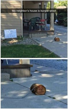 Beware of log!