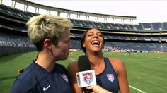 Studio 90: The WNT Previews NWSL Kickoff.  Pinoe and Syd are absolutely hilarious.