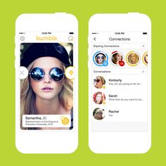 Find your next date with this app.